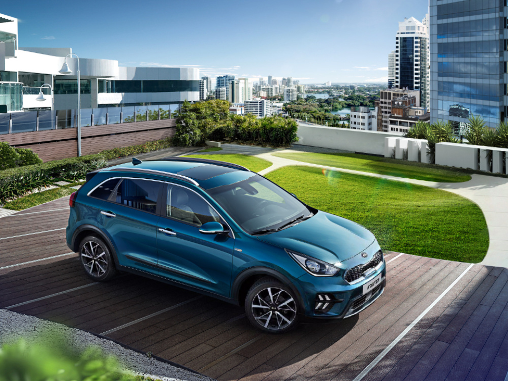 Kia Niro Hybrid - The best of both worlds